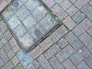Raised / sunken drain cover