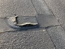 Pothole on Brickyard Spinney Rd
