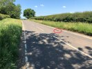 Pothole between Long Buckby & Watford