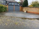 5 Clumber Drive, drop kerb for driveway, rain water doesn't make to nearby drain as road is of an uneven surface.