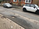 Pothole in Kingswell Rd